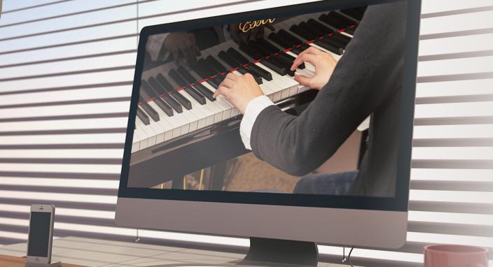 A Hangrózsa Zongoraiskola online hangversenye