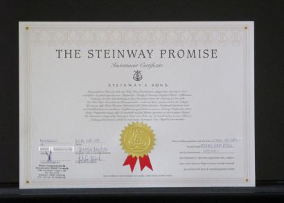 The Steinway Promise