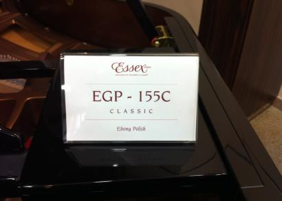 Essex Grand Piano EGP 155 designed by Steinway & Sons label