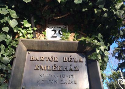 6. HANGRÓZSA - Bartók Béla Emlékház