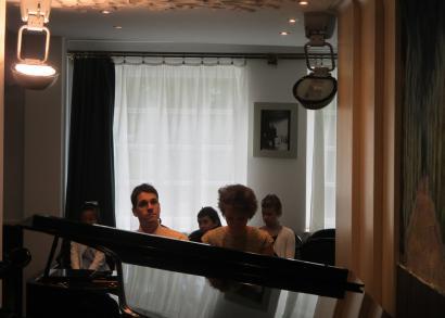5. HANGRÓZSA - próbálunk a koncertre