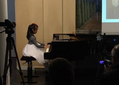 Annie Hu - a Hangrózsa Zongoraiskola növendékhangversenye