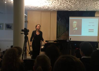 Csillagh Katalin zongoraművész - a Hangrózsa Zongoraiskola növendékhangversenye