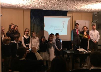 Csoportkép - a Hangrózsa Zongoraiskola növendékhangversenye